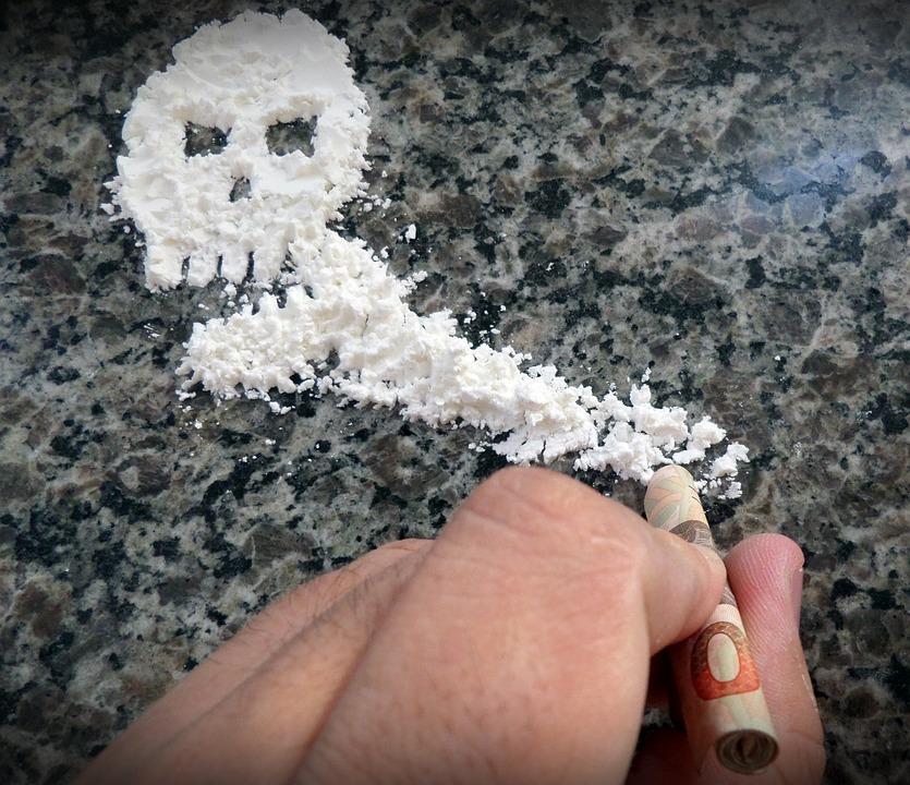 white powder is death